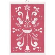 Ekelund Handduk Tinas Jul 35X50 cm, röd