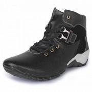Buwch Men Casual Black Boot