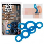 You2Toys [2 Pack] Poppers Cock Ring Blue 0511811