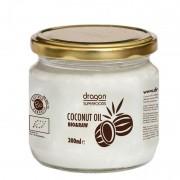 Ulei de cocos virgin bio presat la rece Dragon Superfoods 300ml