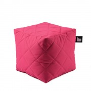 Extreme Lounging B-Box quilted poef-Pink