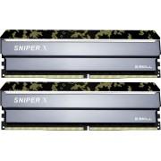Memorija DIMM DDR4 2x8GB 3000MHz G.Skill SniperX CL16, F4-3000C16D-16GSXKB