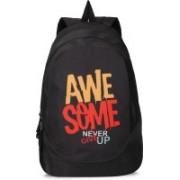 90HILLS Stylo 30L Printed Casual/Laptop bag/backpacks Waterproof Backpack(Black, 30 L)