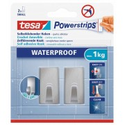 tesa SE PS Waterproof Haken S Metall recht.
