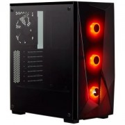 Компютърна кутия Corsair Carbide Series SPEC-DELTA RGB (Mid Tower), Tempered Glass, черен, CC-9011166-WW