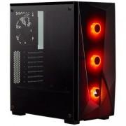 Компютърна кутия Corsair Carbide Series SPEC-DELTA RGB (Mid Tower), Tempered Glass, черен, CC-9011166-WW