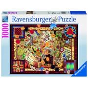 Ravensburger puzzle jocuri antice, 1000 piese