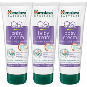 Himalaya Baby cream 100 ml (Pack of 3)