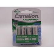 Camelion AA, R6, 1.2V, 600mAh, Ni-Mh, acumulator pentru lampi solare, telefon