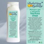 Pečující gel s obsahem TeaTree oleje, 300 ml - Babiččiny bylinky