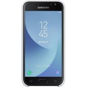 Samsung dual layer cover - wit - voor Samsung Galaxy J3 2017