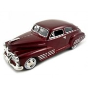 1948 Chevy Aerosedan Fleetline Diecast Car Model 1/24 Blue Motormax