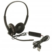 HEADPHONES, Plantronics BLACKWIRE C320, Wideband USB (85619-02)