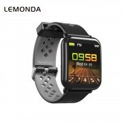 LEMONDA D6 Smart Bracelet 1.3-inch Color Screen Waterproof Heart Rate Monitor Bracelet for Android iOS - Grey