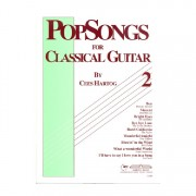 EMC Popsongs for Classical Guitar 2 - Cees Hartog gitaarboek