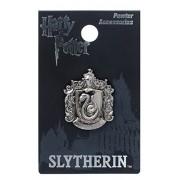 Harry Potter Slytherin School Crest Pewter Lapel Pin