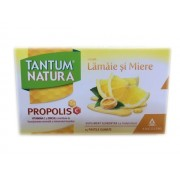 TANTUM NATURA aroma de lamaie si miere 15 pastile gumate