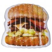 Geen Opblaasbaar hamburger luchtbed 174 cm - Action products