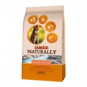 Iams Naturally Adult Cat with North Atlantic Salmon & Rice 2.7kg