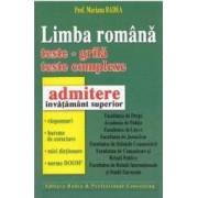 Teste admitere invatamant superior limba romana - Mariana Badea
