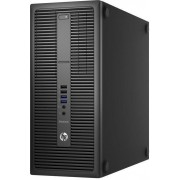 Calculator Sistem PC HP EliteDesk 800 G2 Tower (Procesor Intel® Core™ i3-6100 (3M Cache, 3.70 GHz), Skylake, 4GB, 500GB @7200rpm, Intel HD Graphics 530, Win10 Pro 64)