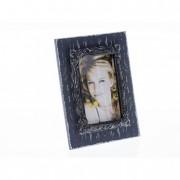 Képkeret vintage fa 17,3x22,2cm szürke