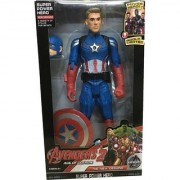 Avengers -Age Of Ultron Captain America Action Figure (Blue Red)