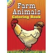 Farm Animals Coloring Book, Paperback