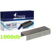Victoria IKVK01 Tűzőkapocs 24/6 1000db/csomag