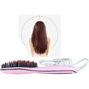 SPERO High Quality Ceramic Electric Hair Brush Hair Straightener Straightening Flat Iron Comb Digital Control Heating Br