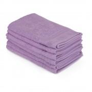 Bonami Sada 6 fialových ručníků do koupelny, 50 x 30 cm