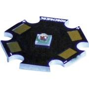 Placa electronica in forma de stea cu led Cree XP-E, tip LSC-B, albastru, lungime de unda 465 nm