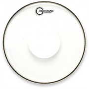 Aquarian Drumheads CCPD24 Classic Clear 24-inch Bass Drum Head with Dot
