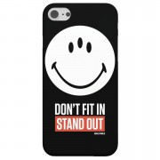 Funda Móvil Smiley World Slogan Don't Fit In, Stand Out para iPhone y Android - Samsung S7 Edge - Carcasa rígida - Mate