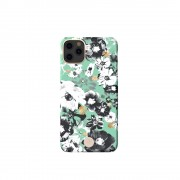 KINGXBAR Flower Series PC Phone Cover with Magnetic Sheet for Apple iPhone 11 6.1 inch - Daisy