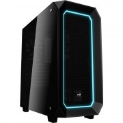 Carcasa Aerocool P7 C0 Black Tempered Glass