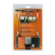 Kit Interfon Moto Pentru 2 Casti Lampa