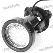 a prueba de agua 3W 5500K 400-lumen 36-LED luz decorativa blanca para acuario / piscina + mas (AC 220 ~ 240V)