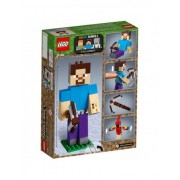 LEGO Minecraft: BigFig Steve papagájjal 21148