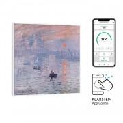 Klarstein Wonderwall Air Art Smart, инфрачервен нагревател, 60 х 60 см, 350 W, апликация, изгрев (HTR10-WdwlS350wSnris)