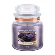 Yankee Candle Dried Lavender & Oak vonná svíčka 411 g