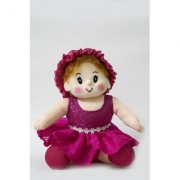 Baby Doll Girl Sweety Flower Pink Color by Lovely Toys