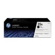 HP Pack de ahorro de 2 cartuchos de tóner original LaserJet HP 35A negropara P1005 y P1006