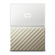 DD EXTERNO PORTATIL 3TB WD MY PASSPORT ULTRA BLANCO-DORADO/METALICO/2.5/USB3.0/COPIA LOCAL/ENCRIPTACION/WIN