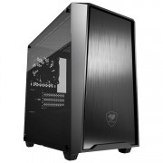 CASE, COUGAR MG130-G, Mini Tower, Black /No PSU/ (CG385TM100002)