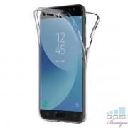 Husa 2 in 1 Fata Spate Samsung Galaxy A7 A750 2018 TPU Transparenta