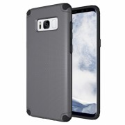 Husa din plastic Light Armor Case Rugged Durable pentru Samsung Galaxy S8 Plus G955 Gri