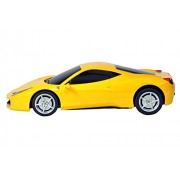 Toyhouse Officially Licensed Rastar Ferrari 458 Italia 1:24 Scale Model Car, Yellow