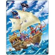 Puzzle Larsen - Pirate Ship, 30 piese (48724)