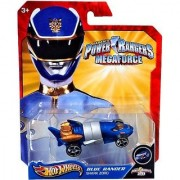 Hot Wheels Power Rangers Blue Ranger - Shark Zord- 20th Anniversary Vehicle